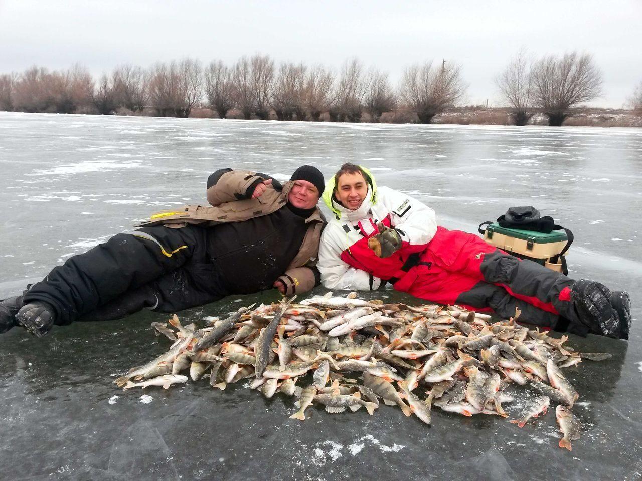 интересная рыбалка на волге