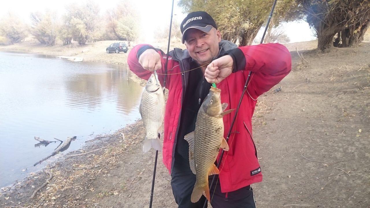 рыбалка на казачке