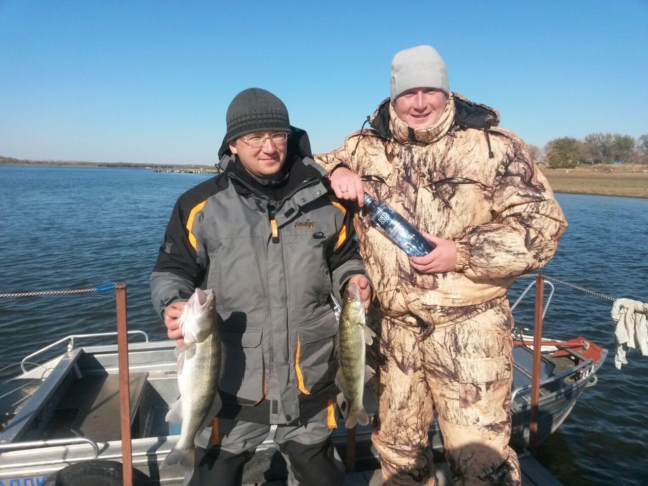 выход на дон для рыбалки