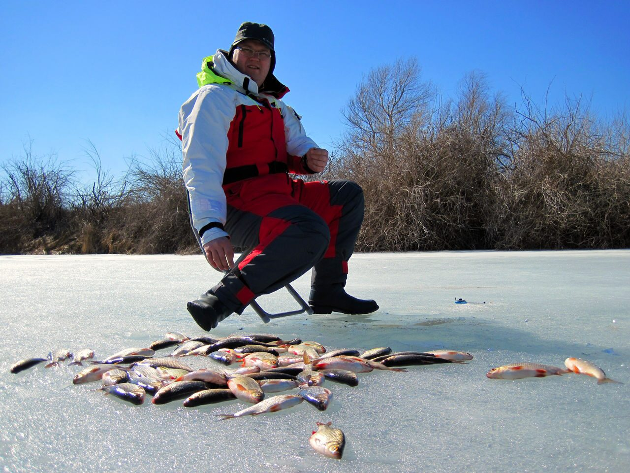 кто был на рыбалке в январе 2012