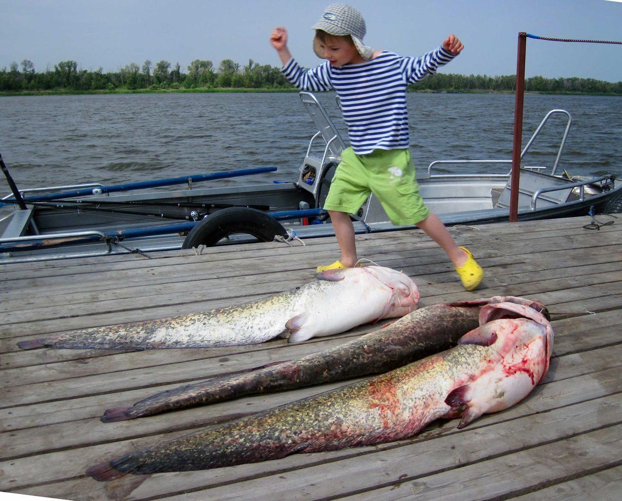 Самая интересная рыбалка на волге